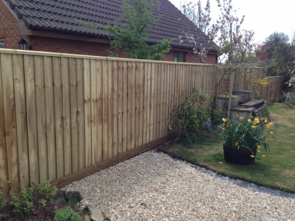 Overlap Fence Panel Fencing Sidmouth